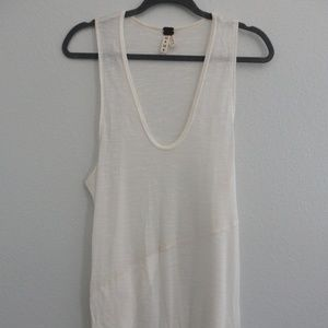 Free People over -sized  tank top